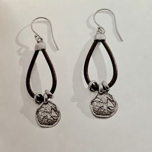 Silpada earrings (pre-owned)